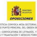 oposiciones justicia 2017 2018