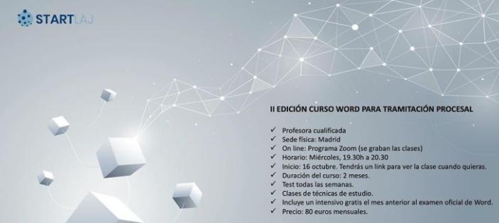 curso word Tramitación