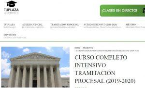 cursos intensivos tramitacion y auxilio judicial