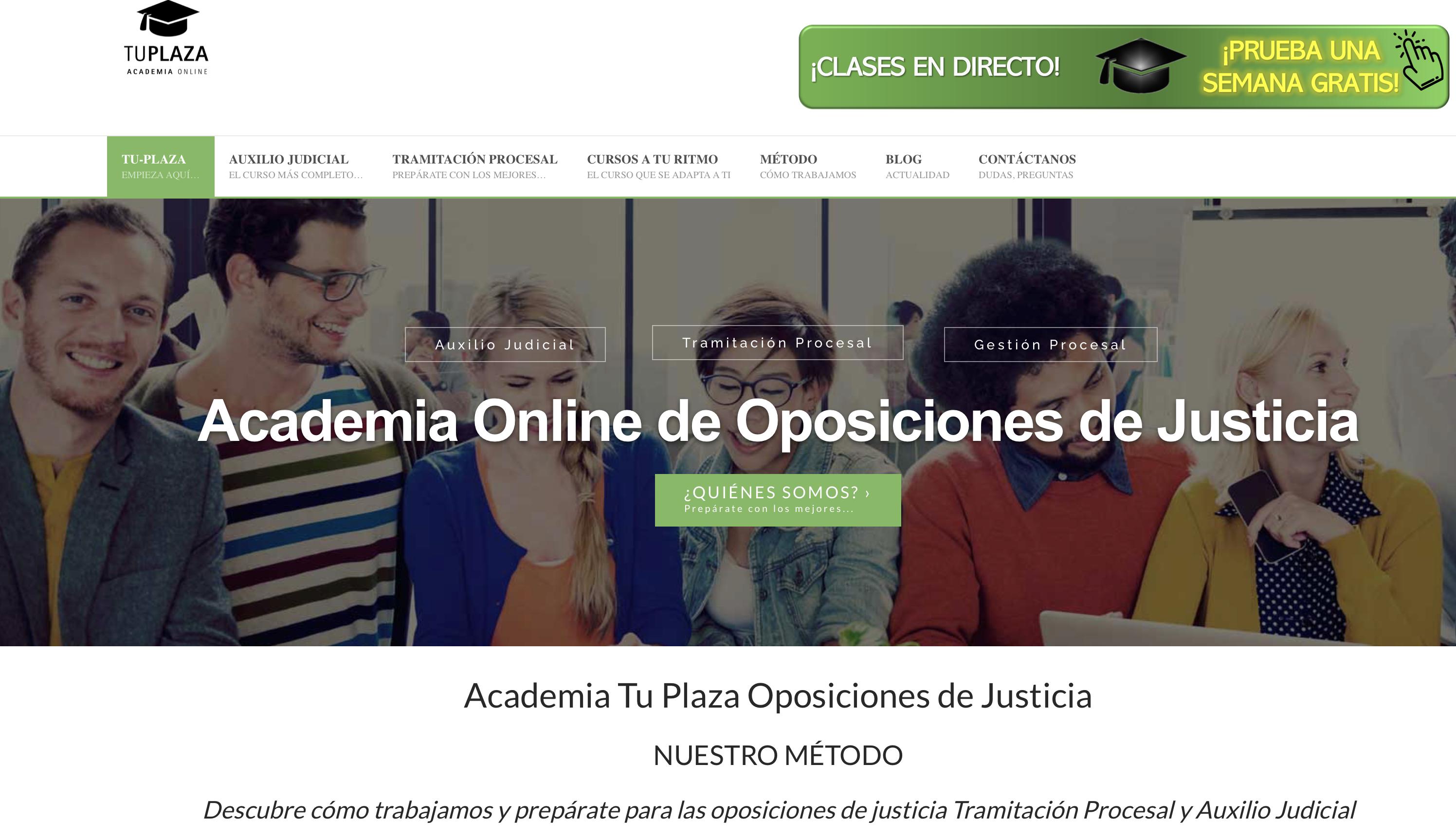 academias oposiciones justicia